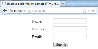 html-form