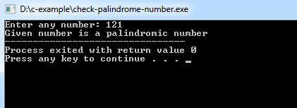 palindrome-number