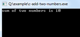 c-add-two-numbers