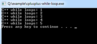 cplusplus-while-loop