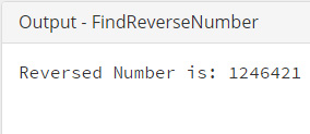 Java-Find-Reverse-Number