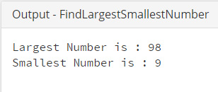 Java_Find_Largest_Smallest_Number